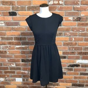 Rebecca Taylor Little Black Dress Size 0